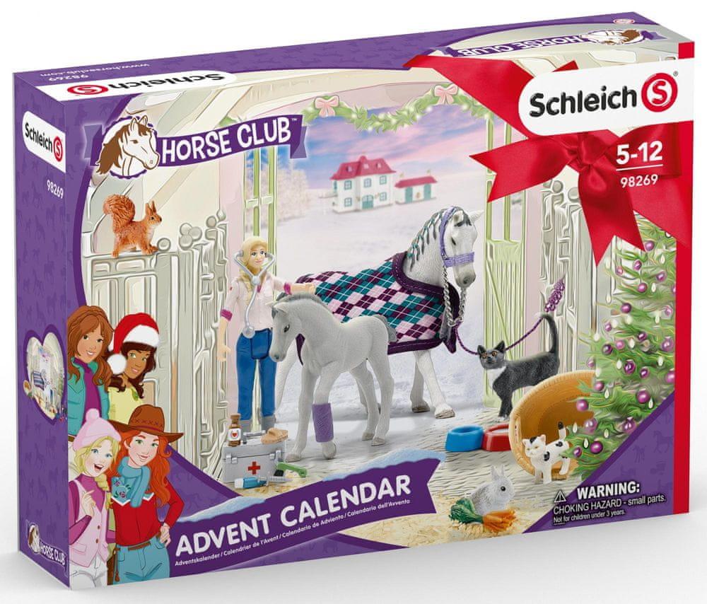 Schleich Adventní kalendář 2020 - Koně