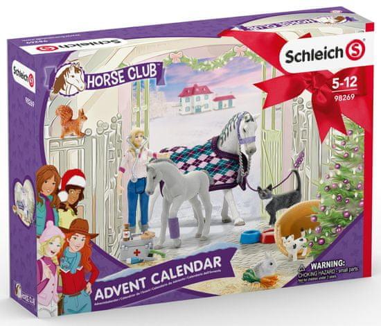 Schleich kalendarz adwentowy 2020 - Konie