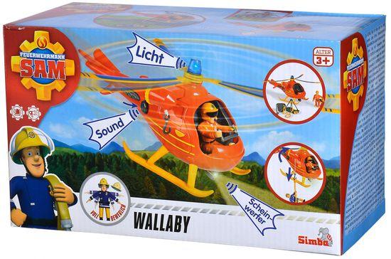 Simba Gasilec Samo helikopter s figuro