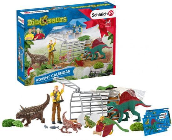 Schleich Adventný kalendár 2020 - Dinosaury