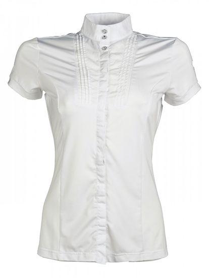 HKM Dámské závodní tričko Soft Powder HKM bílá, Velikost S