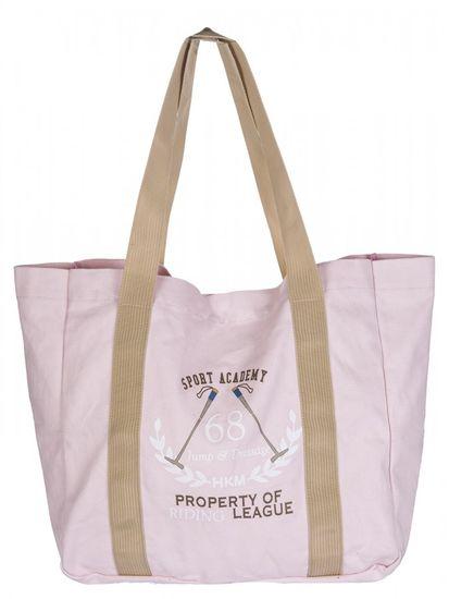 HKM Plážová taška 55x40 cm HKM růžová