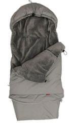 Aesthetic spalna vreča Ekonomy 3v1, nastavljiva, klasična, siva