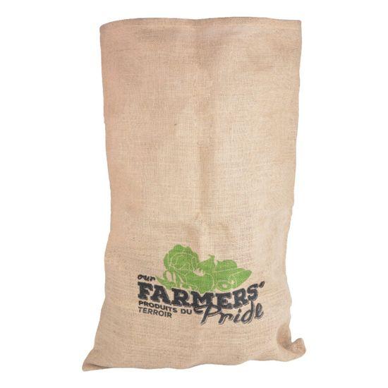 Esschert Design jutová taška skladovací Farmers Pride