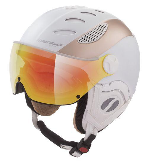 Mango kask narciarski damski Cusna Pro+, biały