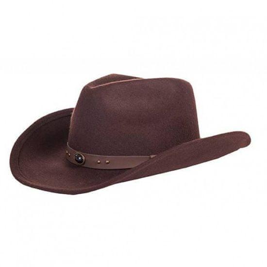HKM Westernový klobouk Houston HKM tmavě hnědá, Velikost 58