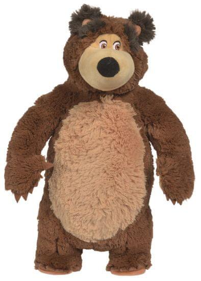 Simba lutka Maša in medved - Maša Shake & Sound, 43 cm
