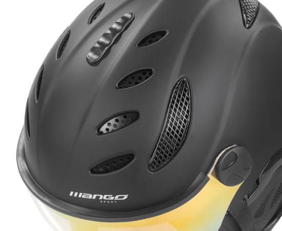 Mango kask narciarski Cusna Pro+, czarny