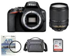 Nikon DSLR fotoaparat D3500 + 18-140VR + Fatbox 32GB + UV filter