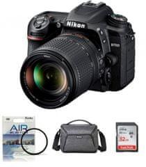 Nikon fotoaparat D-7500 kit 18-140VR + Fatbox 32GB + UV filter