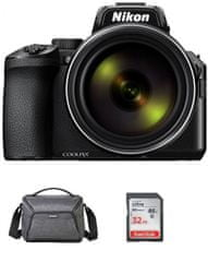 Nikon Coolpix P950 fotoaparat + SD kartica, 32 GB + torba