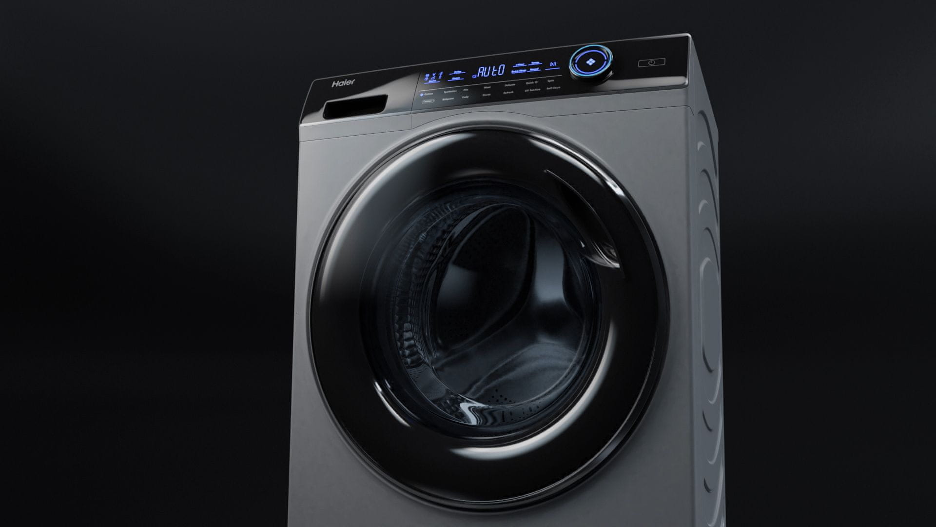 Pračka se sušičkou Haier HWD80-B14979-S Velký buben