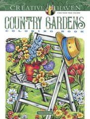 Creative Haven Country Gardens Coloring Book