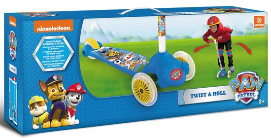 Mondo toys hulajnoga Twist and Roll Paw Patrol