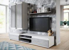 Falco Obývací stěna Lado bílá/beton