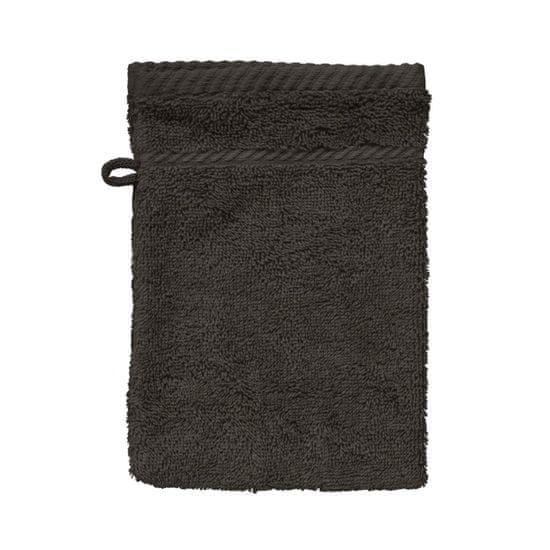 SCANquilt ručník COTTONA tm. šedá