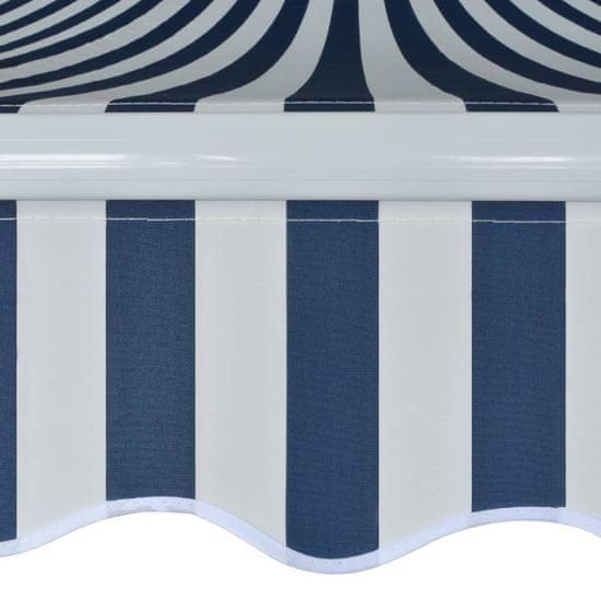 shumee Markiza zwijana ręcznie, 500 cm, niebiesko-biała