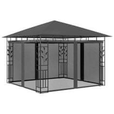 shumee Altana ogrodowa z moskitierą, 3x3x2,73 m, antracytowa, 180 g/m²