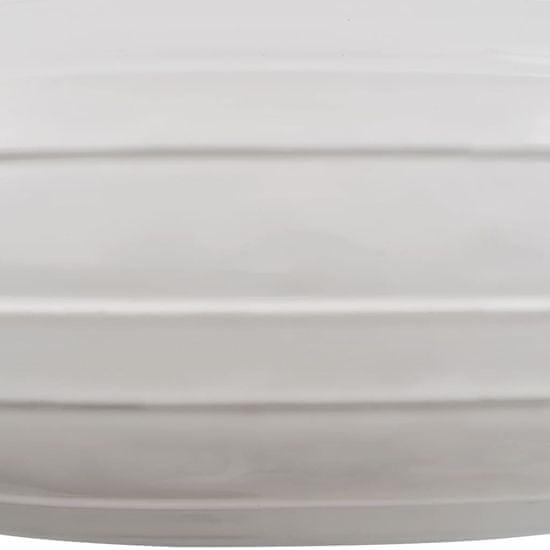 shumee Lodný nárazník 2 ks biely 69x21,5 cm PVC