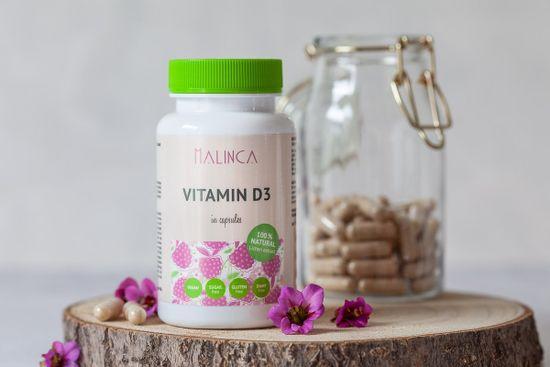 MALINCA vitamin D3, 60 kapsula