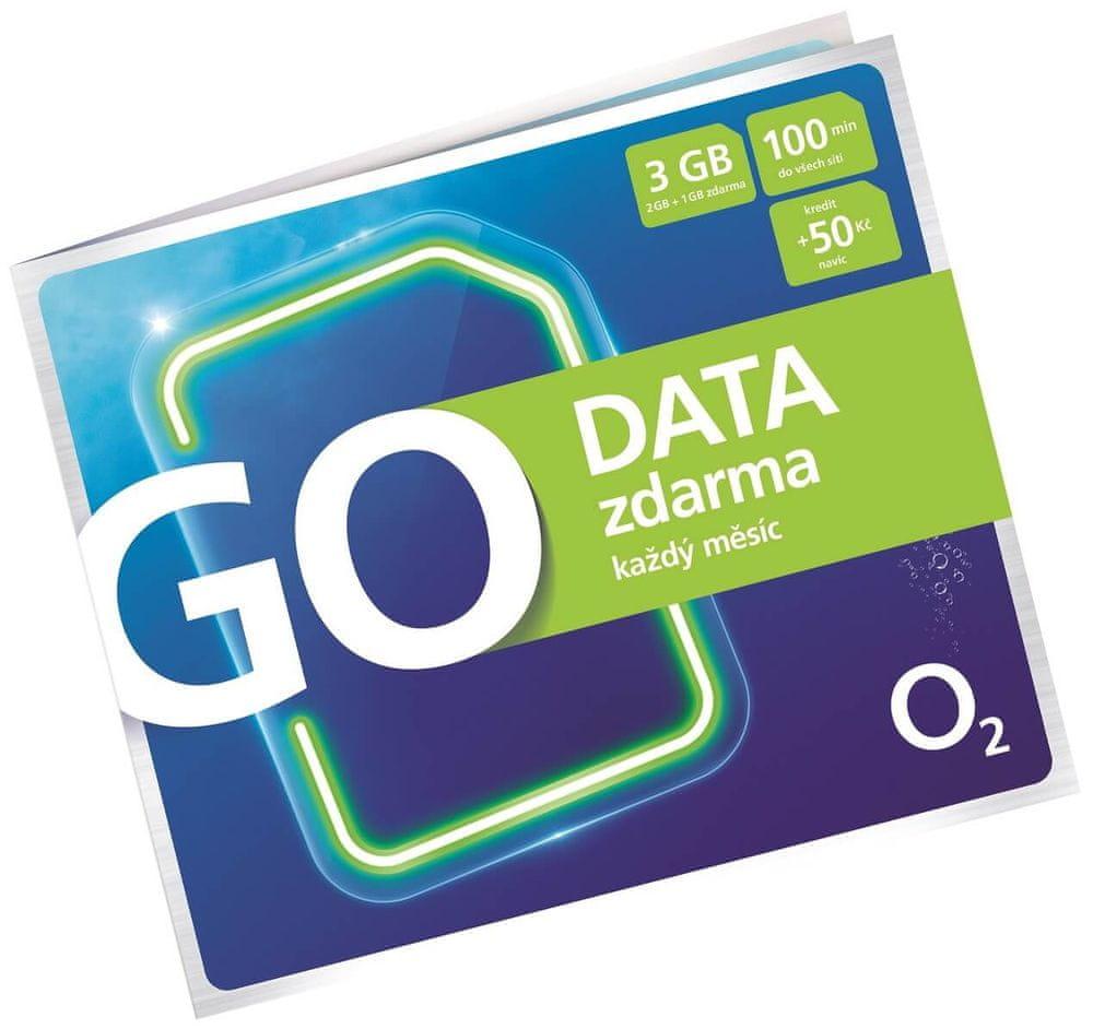 O2 Go Data Zdarma