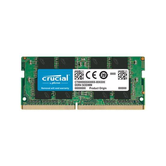 Crucial pomnilnik (RAM) 8 GB, DDR4, PC4-25600, 3200 MT/s, CL22, SODIMM (CT8G4SFRA32A)