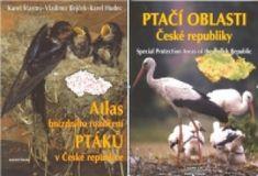 Atlas hnízdního rozšíření ptáků v České republice + Ptačí oblasti České republiky
