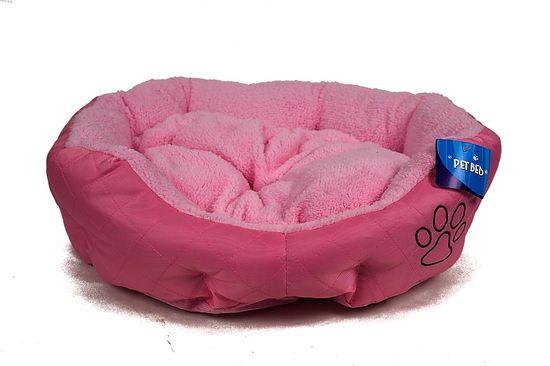 Petproducts Růžový pelíšek pro psa - 45x40 cm