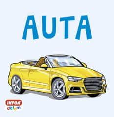 Auta - Čtvercové leporelo