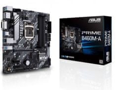 Asus Prime B460M-A osnovna plošča, DDR4, LGA 1200, mATX
