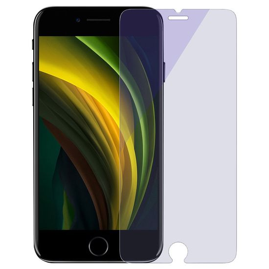 BASEUS 2x 9H Anti-bluelight zaščitno steklo za iPhone 7/8/SE 2020