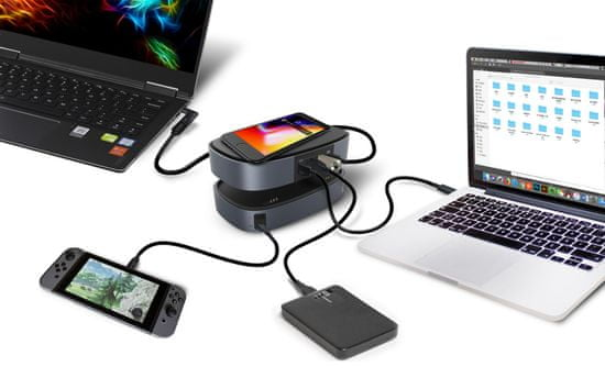 EcoFlow RIVER Bank 25 600 mAh Quick Charge 3.0 PD (bezdrátový nabíječ) 1ECO1000