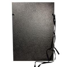 Hit office Dosky so šnúrkou A3 spisové jednostranné čierne