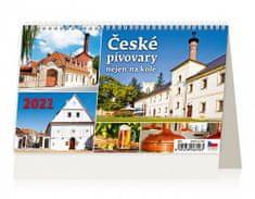 Kalendář 2021 stolní: České pivovary nejen na kole, 226x139