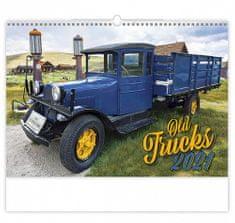 Kalendář 2021 nástěnný: Old Trucks, 450x315