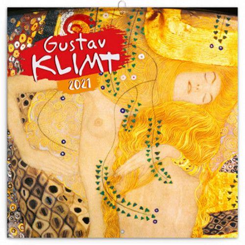 Kalendář 2021 poznámkový: Gustav Klimt, 30 × 30 cm