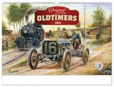 Kalendář 2021 nástěnný: Oldtimers – Václav Zapadlík, 64 × 42 cm