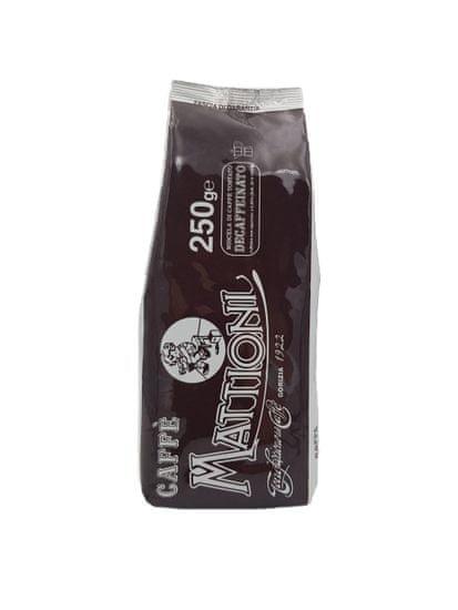 Mattioni brezkofeinska mleta kava, 250 g