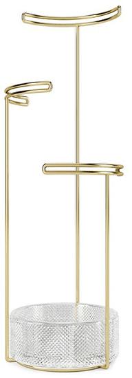 Umbra Stojan na šperky TESORA sklo 1014862104/S