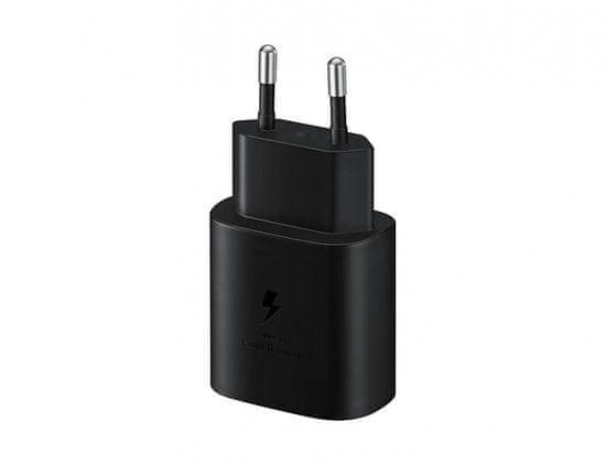 Samsung adapter za kućni punjač 220 V, EP-TA800XBE, 25 W, crni