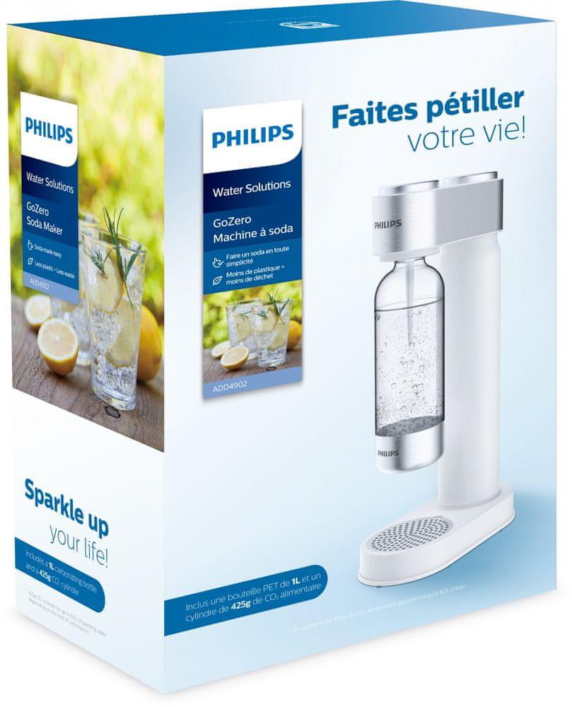 Philips Výrobník sody ADD4902WH/10, bílý