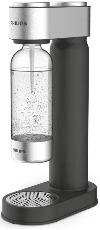 Philips Výrobník sody ADD4902BK/10, černý - zánovní