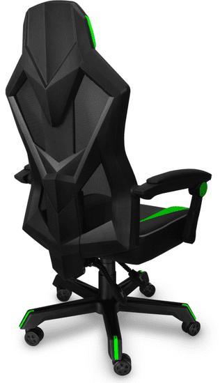 Connect IT fotel gamingowy Monte Carlo, zielony (CGC-2100-GR)