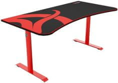Arozzi Arena gaming miza, rdeča