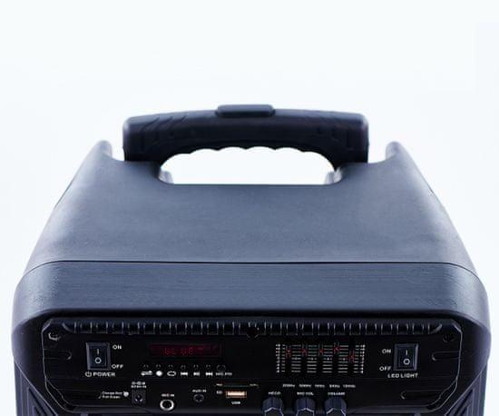 Manta SPK5033 karaoke zvočni sistem, Bluetooth 5.0, Disco LED lučke