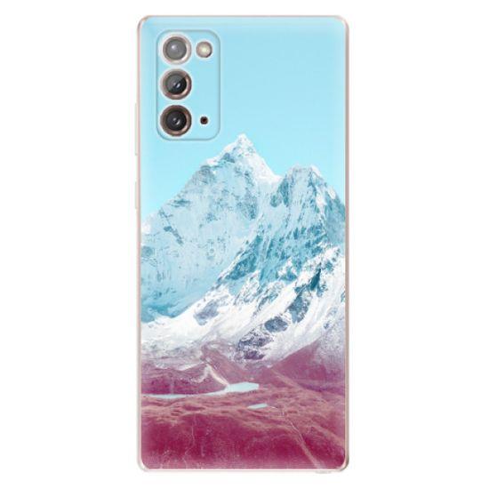 iSaprio Highest Mountains 01 szilikon tok Samsung Galaxy Note 20