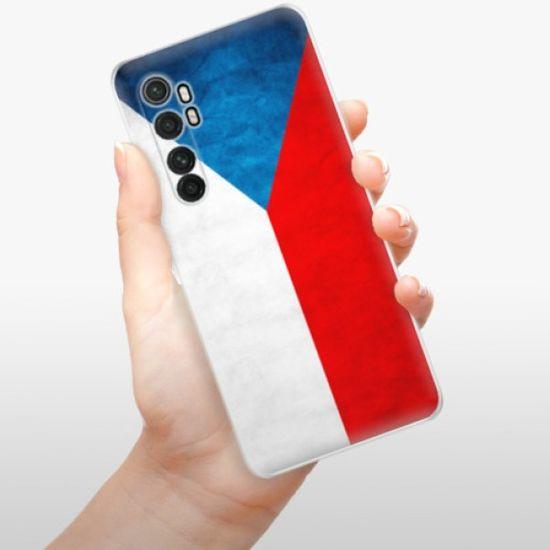 iSaprio Silikonowe etui - Czech Flag na Xiaomi Mi Note 10 Lite