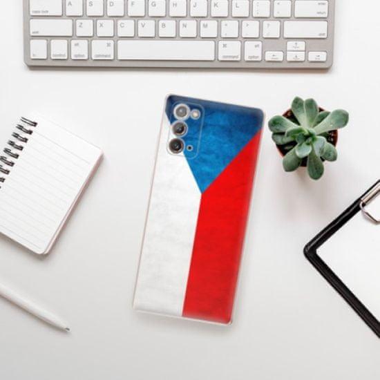 iSaprio Silikonowe etui - Czech Flag na Samsung Galaxy Note 20