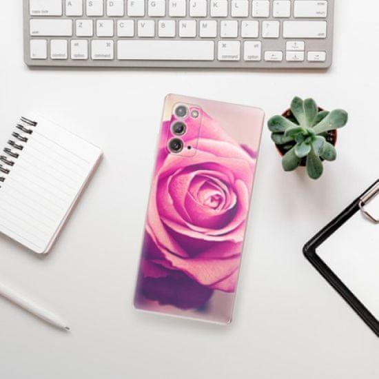 iSaprio Pink Rose szilikon tok Samsung Galaxy Note 20