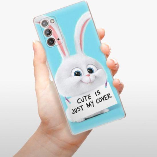 iSaprio Silikonowe etui - My Cover na Samsung Galaxy Note 20